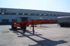 陆锋12.5米30.5吨2轴骨架式集装箱运输半挂车(LST9350TJZG)