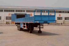 通亚达10米29.5吨2轴半挂车(CTY9350)