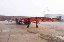 正康宏泰牌HHT9360TJZ型骨架式集装箱运输半挂车图片