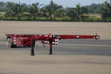闽兴牌FM9350TJZ型骨架式集装箱运输半挂车图片