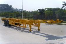港粤牌HSD9352TJZG型集装箱运输半挂车