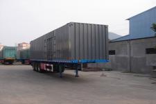 鲁岳牌LHX9400XXY型厢式运输半挂车图片