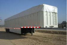 杨嘉牌LHL9401RDXXY型软顶厢式运输半挂车图片