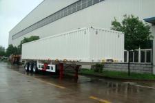 华骏牌ZCZ9361XLS型散装粮食运输半挂车图片