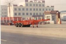 通亚达牌CTY9401TJZ型集装箱运输半挂车图片