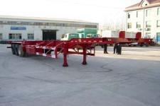 杨嘉牌LHL9384TJZG型框架式集装箱运输半挂车图片
