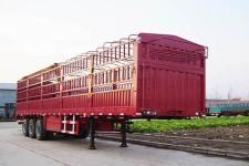 劲越13米24.1吨3轴仓栅半挂车(LYD9320CLXY)