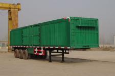劲越13米31.5吨3轴厢式半挂车(LYD9400XXY)
