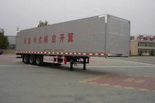 梁山东岳牌CSQ9320XXYK型翼开启式厢式运输半挂车图片