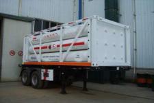 安瑞科7.2米2.3吨2轴高压气体运输半挂车(HGJ9250GGQ)