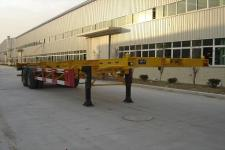 新华旭牌XHX9350TJZ型集装箱运输半挂车