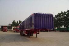 劲越10米32吨3轴厢式半挂车(LYD9401XXY)
