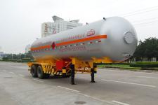 久远牌KP9290GYQ型液化气体运输半挂车