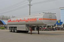 程力威13米31吨3轴化工液体运输半挂车(CLW9402GHY)