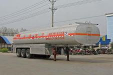 程力威13米31.5噸3軸化工液體運輸半掛車(CLW9403GHY)