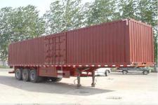 兆鑫牌CHQ9404XXY型厢式运输半挂车图片