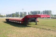 威腾牌BWG9331TDP型低平板半挂车