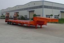 神狐12.7米30吨3轴低平板半挂车(HLQ9401TDP)