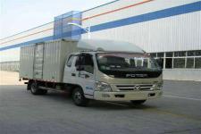 福田奥铃国四单桥厢式运输车102-143马力5吨以下(BJ5049V8CEA-FE)