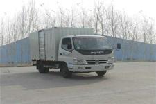 福田奥铃国四单桥厢式运输车102-143马力5吨以下(BJ5049V8BEA-FD)