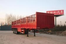 宇田13米33.5吨3轴仓栅式运输半挂车(LHJ9404XCL)
