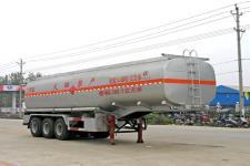 程力威牌CLW9406GHY型化工液体运输半挂车