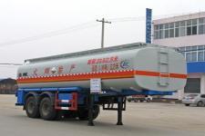 程力威牌CLW9350GHY型化工液体运输半挂车