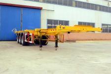 泊龙牌SJL9370TJZG型集装箱运输半挂车