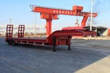 昌骅12.2米25.6吨2轴低平板运输半挂车(HCH9350TDP)