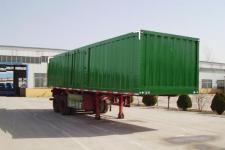 骜通牌LAT9350XXY型厢式运输半挂车图片