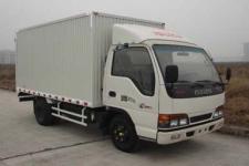 庆铃国四单桥厢式运输车98马力5吨以下(QL5040XXY3FAR)