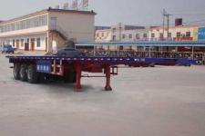 陆锋12.5米34吨3轴平板运输半挂车(LST9400TPB)