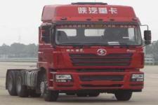陕汽后双桥,后八轮集装箱半挂牵引车430马力(SX4256NX3241)