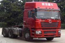 陕汽后双桥,后八轮集装箱半挂牵引车430马力(SX4256NX3246)