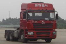 陕汽后双桥,后八轮集装箱半挂牵引车336马力(SX4256NT3241)