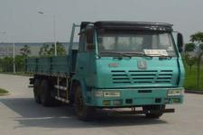 陕汽国四后双桥,后八轮货车271马力13吨(SX1256UR464)