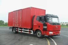 一汽解放國四單橋廂式運輸車144-165馬力5-10噸(CA5160XXYP62K1L3E4)