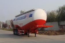 鲁驰牌LC9403GFL型低密度粉粒物料运输半挂车