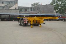 陆锋7.3米31.8吨2轴集装箱运输半挂车(LST9352TJZ)