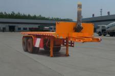 陆锋7.6米29吨2轴平板自卸半挂车(LST9350ZZXP)
