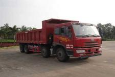 解放牌CA3310P1K15L3T4NA80型平头天然气自卸汽车图片