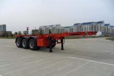 江淮扬天8.5米35吨3轴集装箱运输半挂车(CXQ9405TJZG)