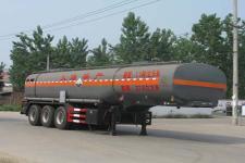 程力威牌CLW9401GFW型腐蚀性物品罐式运输半挂车