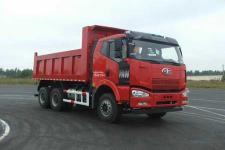 解放牌CA3250P66K24L1T1E4型平头柴油自卸汽车图片