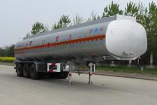AKL9402GRY型开乐牌铝合金易燃液体罐式运输半挂车图片