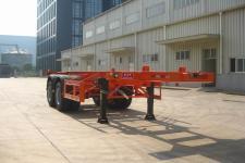大力士牌FTW9340TJZG型集装箱运输半挂车