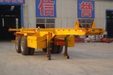 成事达7.3米31.5吨2轴集装箱运输半挂车(SCD9350TJZ)