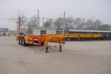 劲越12.6米34吨3轴集装箱运输半挂车(LYD9403TJZG)