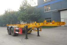 亚特重工牌TZ9340TJZ型集装箱运输半挂车图片
