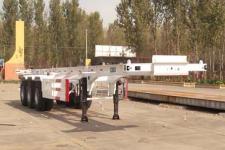 泊龙牌SJL9402TJZ型集装箱运输半挂车